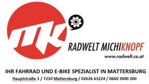 Radwelt Michi Knopf - der Experte, wenn es um Radtechnik geht.