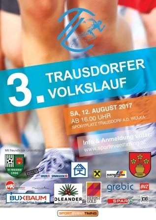 Volkslauf Plakat 2017