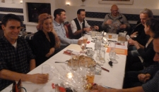 Roland, Kerstin, Stefan, Michael, Detlef, Michael, Nina, Lisa und die Nase von Robert