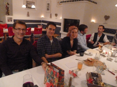 Dietmar, Roland, Kerstin, Stefan und Michael hatten auch Spaß