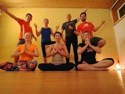 Abschluss Yoga für LäuferInnen - 2018 gehts weiter!